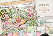 {Sweet & Hootiful} Digital Scrapbook Kit by Digilivious Design available at Sweet Shoppe Designs
