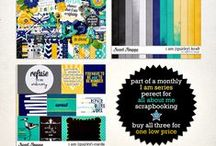 {I Am - Quirky} Digital Scrapbook Collab by Digilicious Design and Meghan Mullens