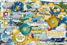 {Whatever the Weather} Digital Scrapbook Collection by Digilicious Design