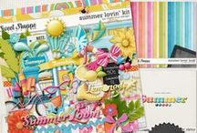 {Summer Lovin'} Digital Scrapbook Collection by Digilicious Design available at Sweet Shoppe Designs
