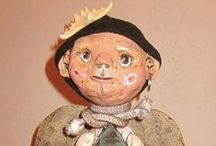 Art Dolls / O.O.A.K. dolls made of cloth, clay, and love...