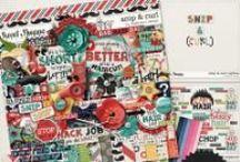 {Snip & Curl} Digital Scrapbook Collection by Digilicious Design