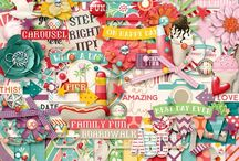 {Santa Monica} Digital Collab Kit by Digilicious Design and Tickled Pink Studio