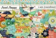 {I Am Carefree} Digital Scrapbook Collab Kit by Digilicious Design and Meghan Mullens