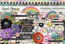 {Chasing Rainbows} Digital Collab Kit by Digilicious Design and Sugary Fancy