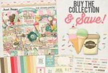 {Ice Cream Parlor} Digital Collab Collection by Amber Shaw and Digilicious Design