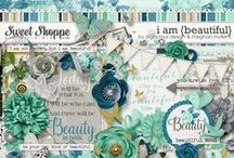 {I Am: Beautiful} Digital Collab Kit by Meghan Mullens and Digilicious Design