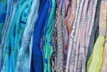 CHIFFON SHEER SCARVES / Our chiffon scarves are made from a lightweight, woven sheer silk, giving it a diaphanous appearance. Chiffon is very light and delicate and accepts vibrant colors quite well. It is more lustrous than georgette silk. The Harshita chiffon scarf measures 14 by 80 inches and is available in a wide spectrum of colors and designs.