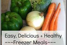 Freezer Meals / by D'Lonna Steiner