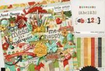 {Little Artist} Digital Scrapbook Collection by Digilicious Design
