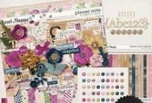 {Please Note} Digital Scrapbook Collection by Digilicious Design