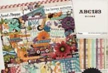 {He Loves Autumn} Digital Scrapbook Collection by Digilicious Design