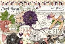 {I Am Kind} Digital Scrapbook Collab Kit by Digilicious Design and Meghan Mullens
