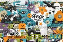 {Boo Crew} Digital Collab by Digilicious Design and Digital Scrapbook Ingredients