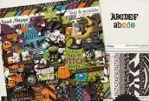 {Toil and Trouble} Digital Scrapbook Collection by Digilicious Design