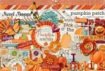 {Pumpkin Patch} Digital Scrapbook Kit by Digilicious Design