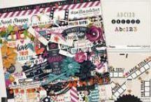 {#selfieaddict} Digital Scrapbook Collection by Digilicious Design
