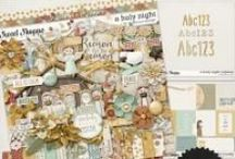 {O Holy Night} Digital Scrapbooking Collection by Digilicious Design
