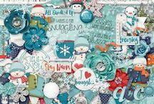 {Snow & Snuggles} Digital Collab Kit by Digilicious Design and Liella Designs