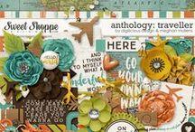 {Anthology: Traveller} Digital Collab Kit by Digilicious Design and Meghan Mullens