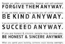 Wise words. / by Blaynie Harris