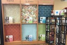 """York Wallcoverings """"Spotted"""" / York Wallcoverings covers the world!"""