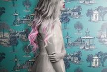 Emerging Trends / York Wallcoverings covers the trends in fashion and interiors.