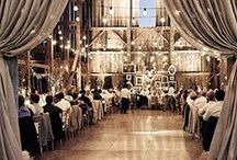 { rustic weddings } / Barns can be beautiful!  Get glam for your wedding!  For other glamorous ideas, check out Posh Purpose!  http://poshpurpose.blogspot.com