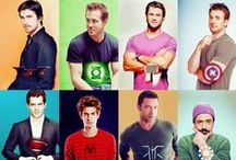 Hollywood: Movies, TV & Good Lookin' People / Movies & TV that I Love and Hollywood Hotties / by Emma Auckram