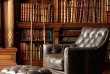Library Obsession / Ideas for a Library! My place to relax and get lost in a book <3