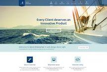 Website Design / A look at some of our website design work