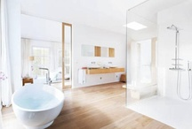 *Bath or Shower - The Great Debate* / The ultimate interior design debate may well be SHOWER or BATH? Somehow, every single client asks this question. What makes your perfect bathroom?    #bath #shower #bathroom #bathtubs #sinks   #taps  If you want to pin on this board, just ask by comment or email.
