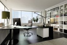 In The Home: Study & Office / Ideas for a study/office or little room!