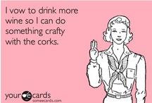 Wine Cork Decor  / by Cottage Chic