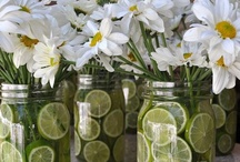 Repurposed Mason Jars  / by Cottage Chic