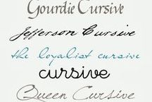 Fonts / What's not to love about a beautiful font?? / by Carrie Perrins 3595