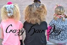 Crazy Hair Day / The girls have Crazy Hair days... these are some awesome crazy ideas!  / by Carrie Perrins 3595