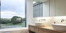bathroom. / Ich liebe Badezimmer. Es können Ruhe-Räume sein, Räume der Kommunikation, Räume zur Alltagsflucht. Auf dieser Pinnwand sammle ich alle Ideen zum Thema, auch um meinen Kunden einen ersten Einblick zu geben wohin die Reise bei ihrem Bad-Projekt gehen kann.