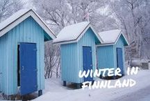 Winter in Finland / A little insight into the Winter Wonderland Finland. / by Lilies Diary