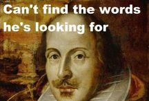 Reading Shakespeare / by Paula Bronn