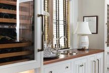 { barkeep } / Keep all of your entertaining essentials in the perfect butler's pantry or wet bar.  For more home inspiration and entertaining tips, check out Posh Purpose!  http://poshpurpose.blogspot.com