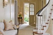 """{ to and fro } / Doors, windows, stairs, and entryways...all the things that get you """"to and fro"""" in your home.  Often neglected, but so important to the overall feel and look of your home!  For more home inspiration, check out Posh Purpose!  http://poshpurpose.blogspot.com"""