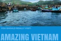 Amazing Vietnam / This is a collection of a country which cannot be any more beautiful. Its stunning beaches, palm trees and ever-laughing people make this place a true paradise.  www.lilies-diary.com / by Lilies Diary