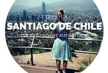 Santiago de Chile #chile / by Lilies Diary