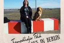 Tempelhofer Feld Berlin / The Tempelhofer Feld in Berlin // #berlin #germany #deutschland #tempelhoferfeld #tempfelhof #airplanefield / by Lilies Diary
