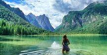 SÜDTIROL REISETIPPS UND INSPIRATIONEN / Südtirol ist ein Traumreiseziel für Naturverbundene Menschen. Ihr könnt der Wandern, Radfahren, die Natur genießen, in Bergessen schwimmen oder auf einem Bauernhof Urlaub machen. Wie schön Südtirol wirklich ist, zeigt euch unser Südtirol Board. Meran, Bozen, Innichen, See, Seiser Alm, Pragser Wildsee, Dolomiten, Haflinger, Wanderrouten, Schlern.