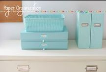 Home - Organization / Ideas to help you be more organized. Ideas, DIY, products, and projects.