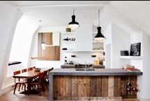 Home: Kitchens & Bathrooms / by Lady Daylight