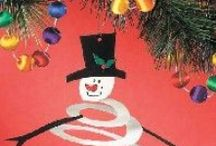 Holidays - Winter Party Ideas / Ideas for an elementary classroom's winter party. Games, crafts, decoration, food, and recipes.