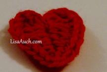 Valentines Crochet Patterns / Crochet Patterns FREE for Valentines Day